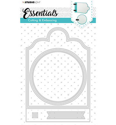 Cutting and Embossing Die Essentials nr.165 - STENCILSL165