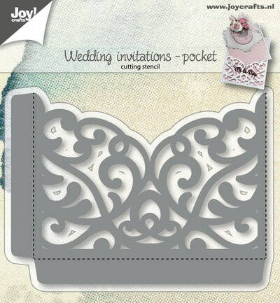 Joy! stencil giftcardpocket - 6002/1270