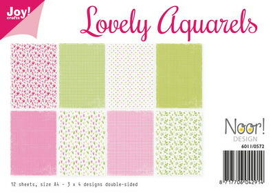 Joy! papierset Lovely aquarels - 6011/0572