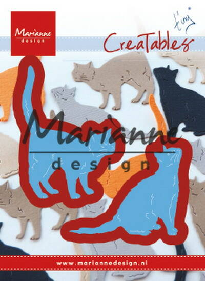 Creatables stencil Tiny's cats - LR0591