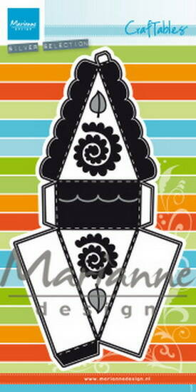 Craftables stencil punch die cake - CR1462