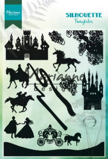 Clear stamp silhouette fairytales - CS 1020