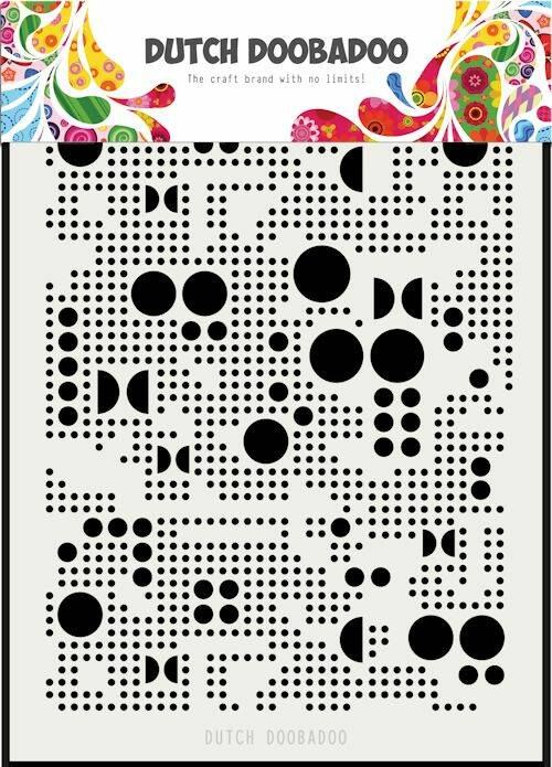 Dutch Mask Art mylar various dots A5 - 470.715.133