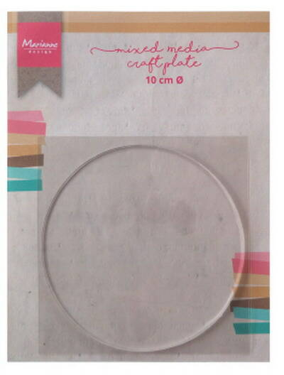 Craft plate circle 10 cm - LR0016