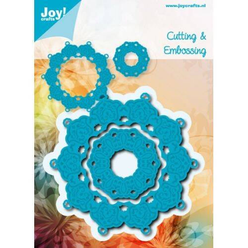 Cutting & Embossing stencil (2st) 6002/0458