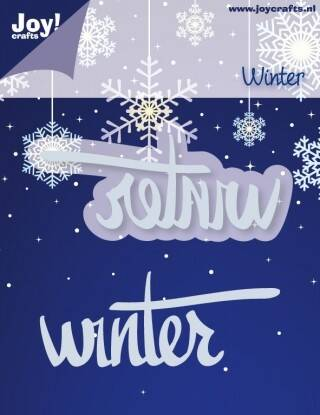 Cutting & Embossing stencil - winter -  6002/2033