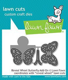 Lawn Fawn Reveal Wheel Butterfly Add-on Dies (LF1910)