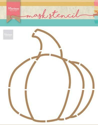 Mask stencil pumpkin by Marleen - PS8016