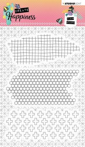 Studio Light Clearstempel A6 Create Happiness nr.349 - STAMPCR349