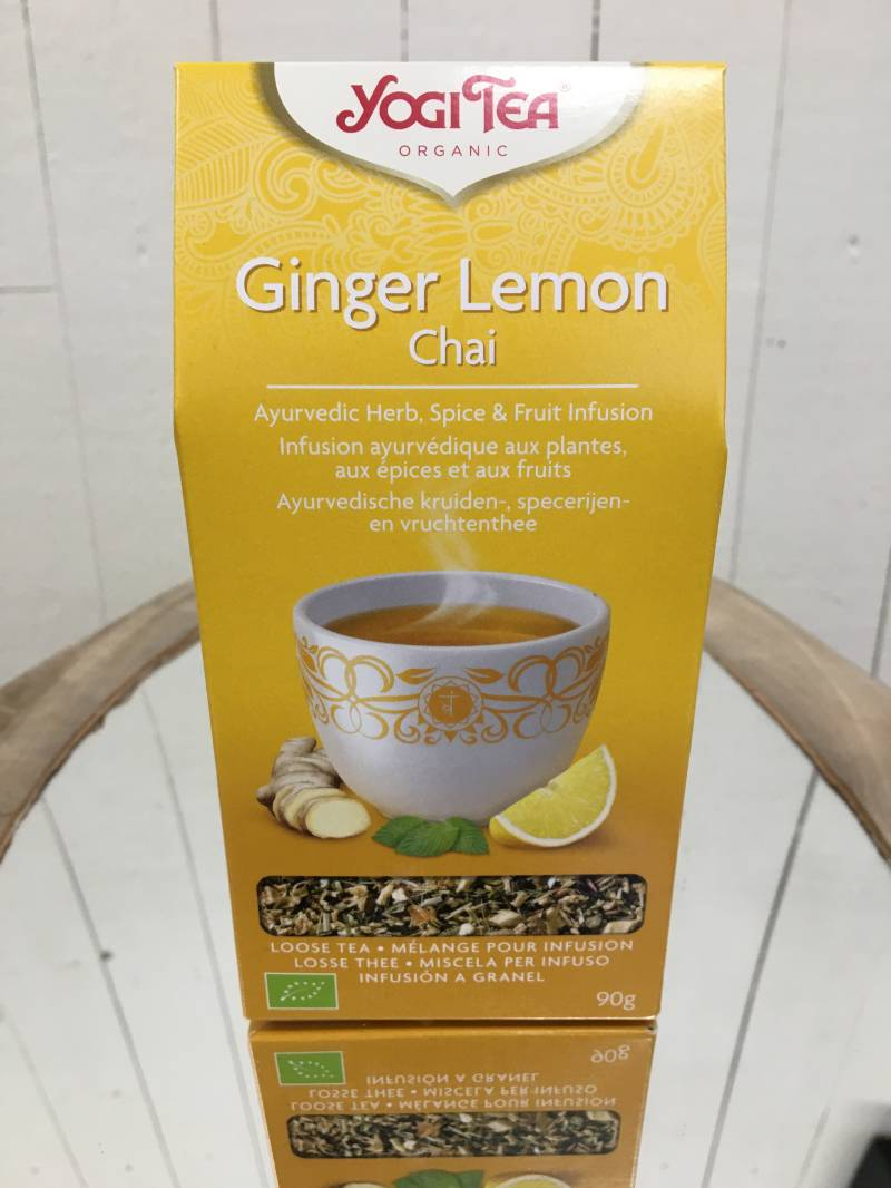 Yogi losse thee - Ginger Lemon Chai