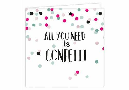 VERZEND SERVICE All you need is confetti