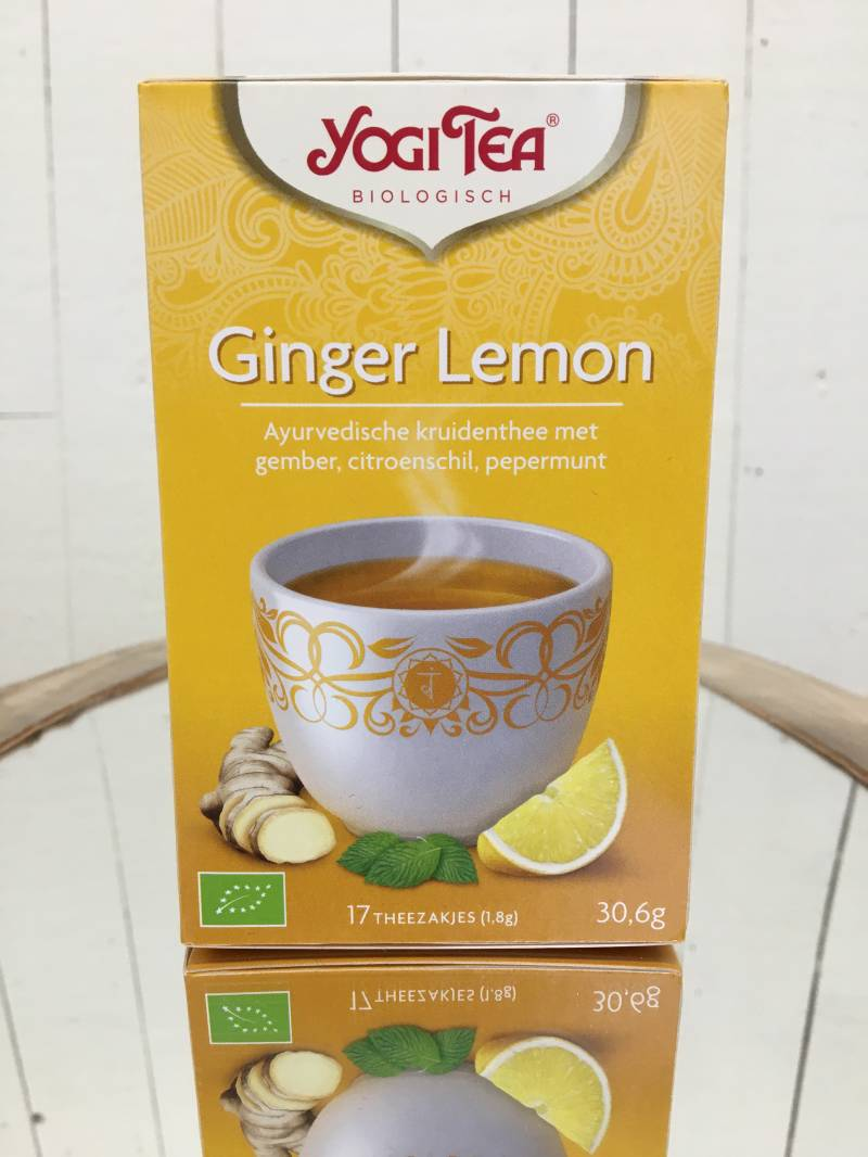Ginger Lemon Munt