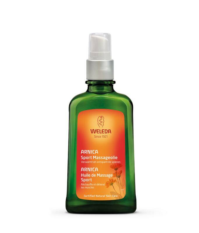 Weleda Arnica massageolie 200 ml