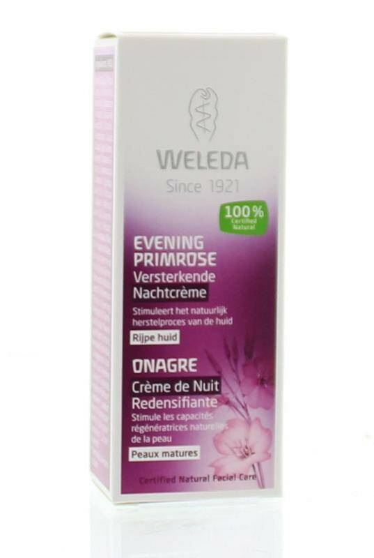 Weleda Evening primrose nachtcrème 30 ml