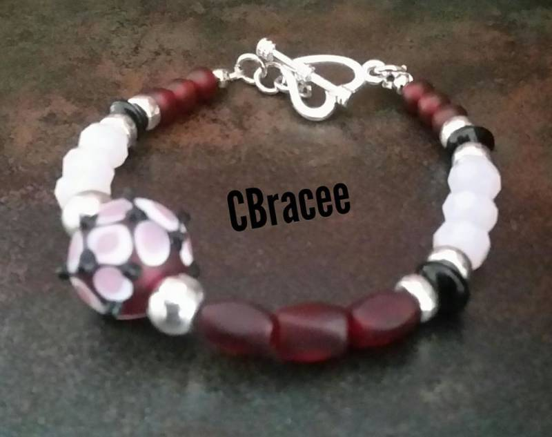 Armband Red&Pink