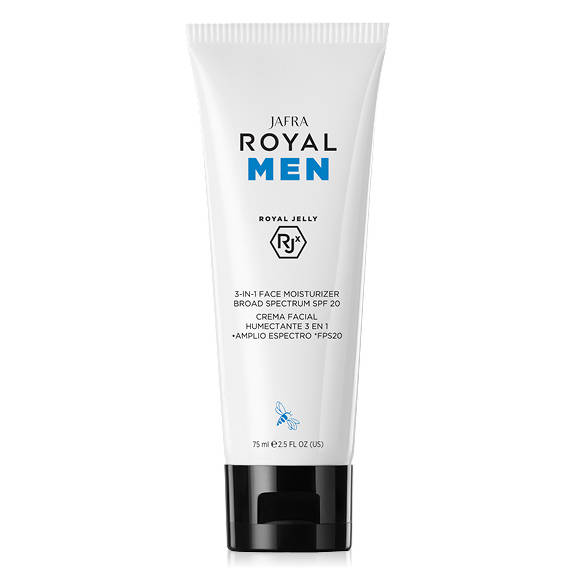 Jafra Royal Men 3-in-1 Face Moisturizer Broad Spectrum SPF20 (75 ml)