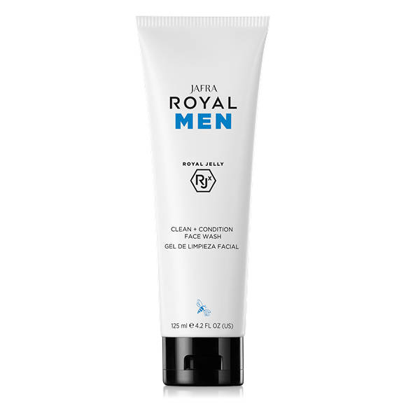 Jafra Royal Men Clean + Condition Face Wash (125 ml)