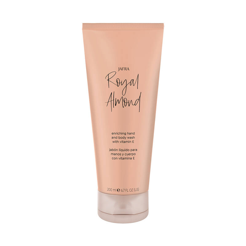 Jafra Royal Almond Enriching Hand & Body Wash with vitamine E