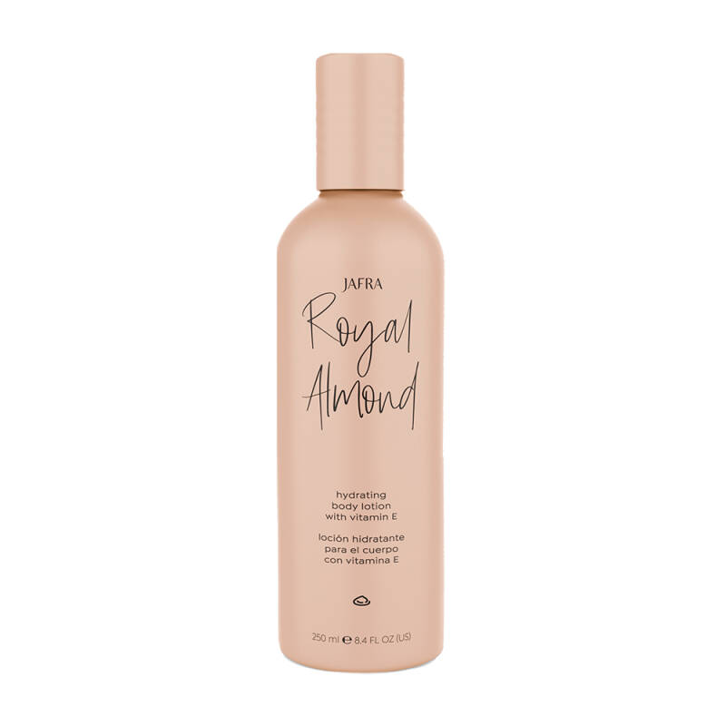 Jafra Royal Almond Hydrating Body Lotion with vitamine E