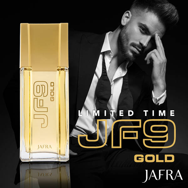 Jafra JF9 Gold Cologne (100ml)