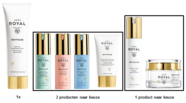 Jafra Royal Revitalize Set - Basic (4 producten)