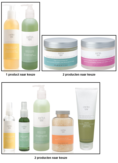 Jafra Spa Set Deluxe (5 producten)