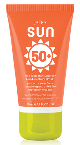 Jafra Sun Face Protector Sunscreen SPF 50+ Oil Free