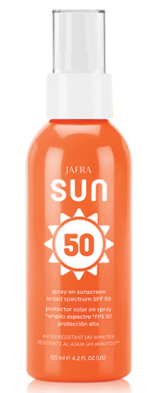 Jafra Sun Spray On Sunscreen SPF50