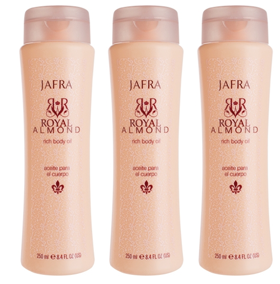 Jafra Royal Amond Body Lotion (3 producten)