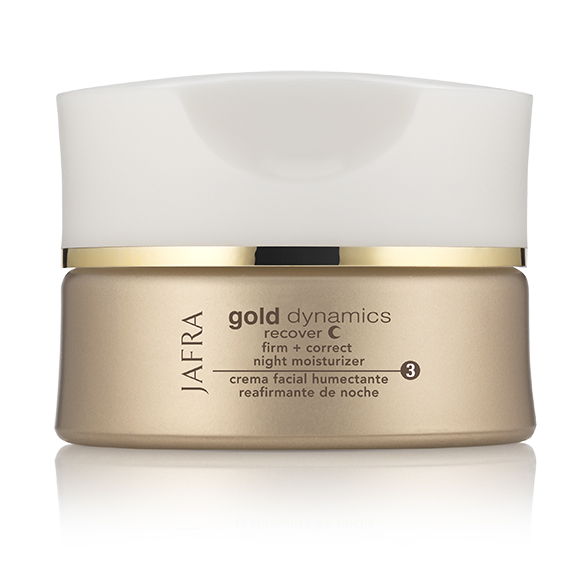 Jafra Gold Dynamics Firm + Correct Night Moisturizer