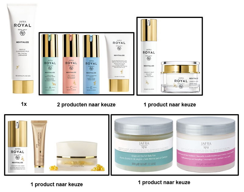 Jafra Revitalize Set Deluxe (6 producten)