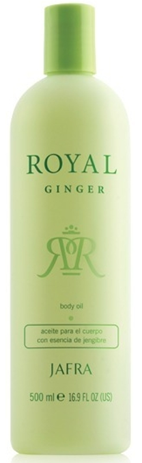 Jafra Royal Ginger Body Oil (500 ml)