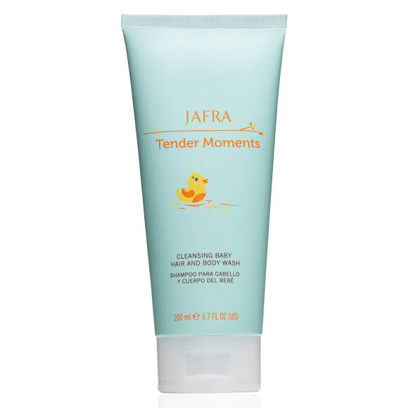 Jafra Tender Moments Cleansing Baby Hair and Body Wash (200 ml)