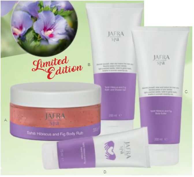 Jafra Tahiti Hibiscus & Fig Set (4 producten)