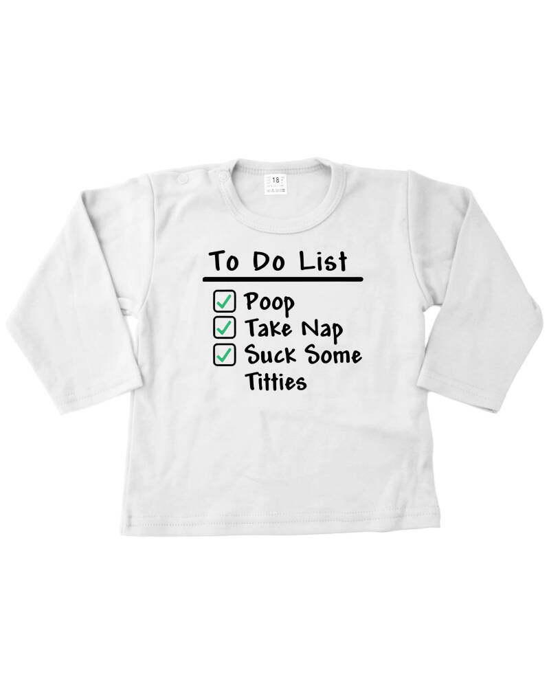 Shirtje To Do List