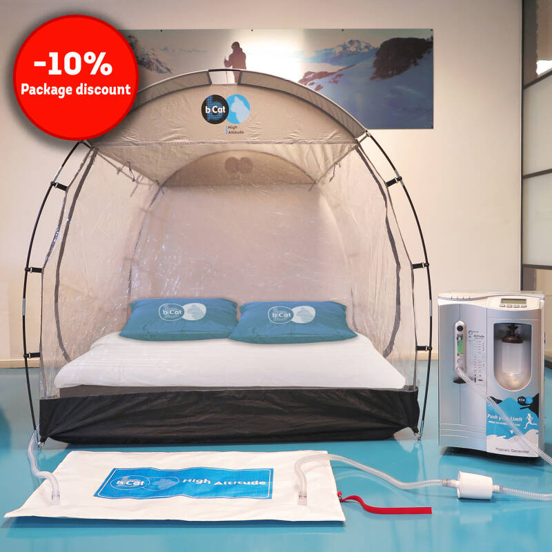 Altitude training sleep package