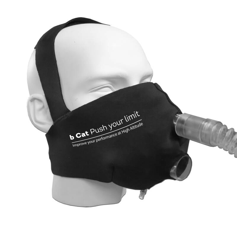 DeLuxe face mask for CPAP altitude mask