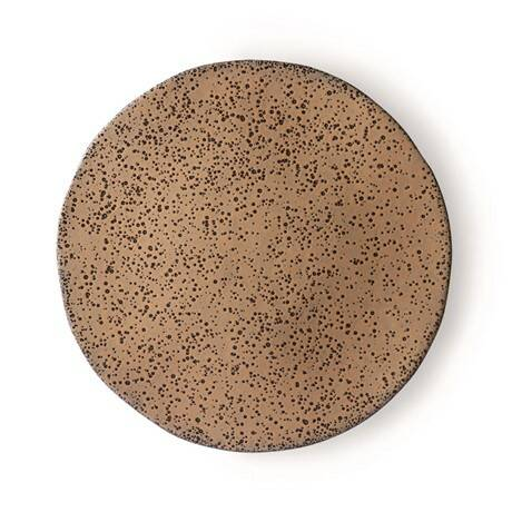 GRADIENT CERAMICS: DINNER PLATE TAUPE
