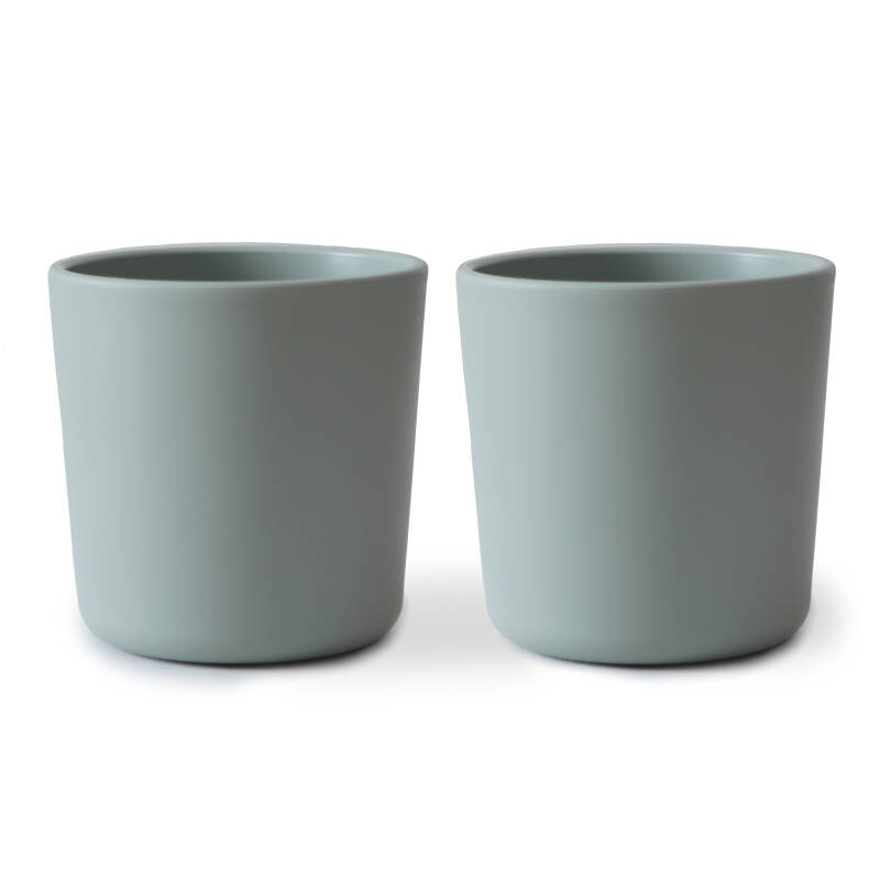 Mushie Duo pack Cup - Sage - Baby DM
