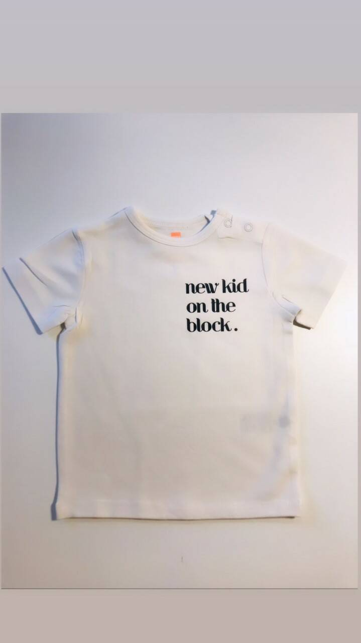 T-shirt - new kid on the block.
