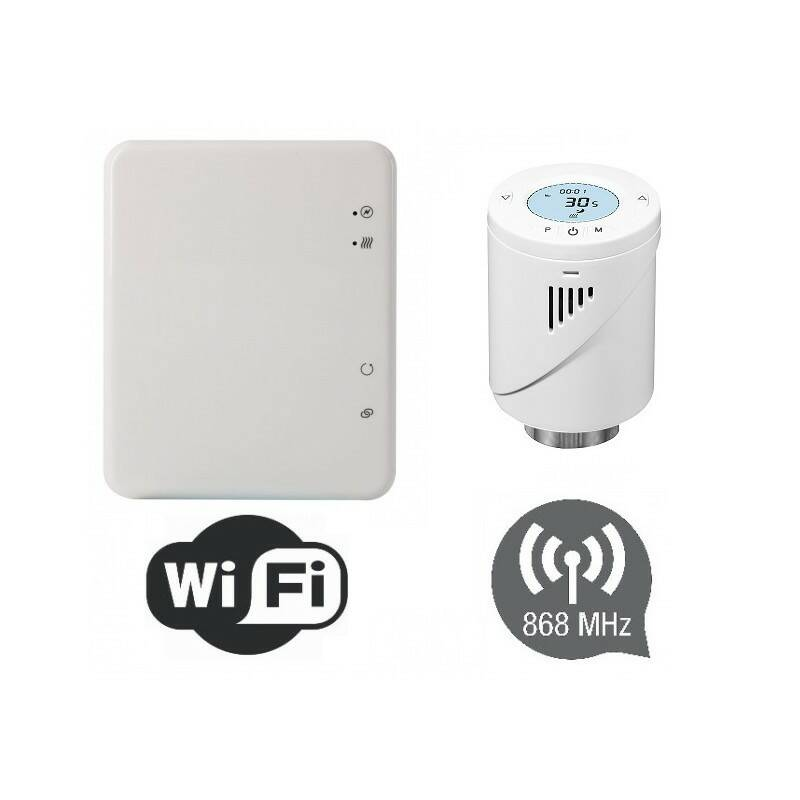 Hub + Digitale thermostaat knoppen | 52079 set
