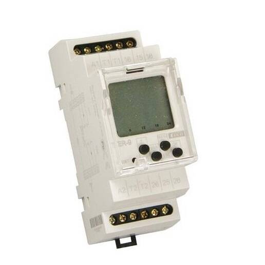 TER 9, din rail dubbele thermostaat | 50950