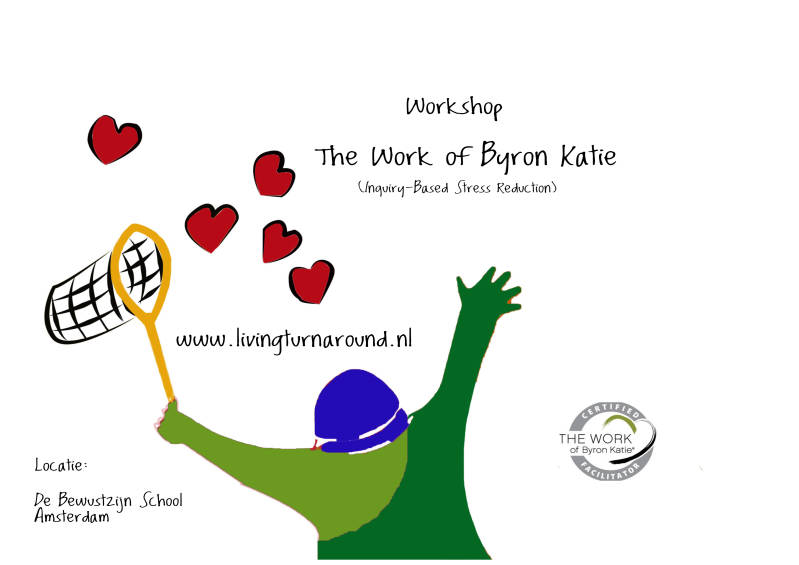 Ticket Workshop The Work van Byron Katie (IBSR)