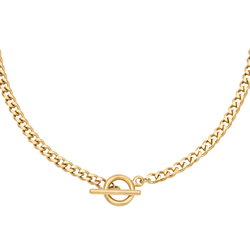 Lauren Chain necklace gold