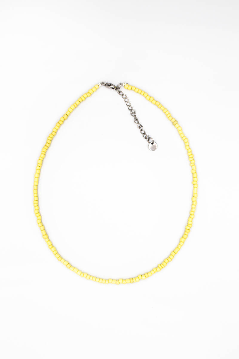 Basic choker yellow