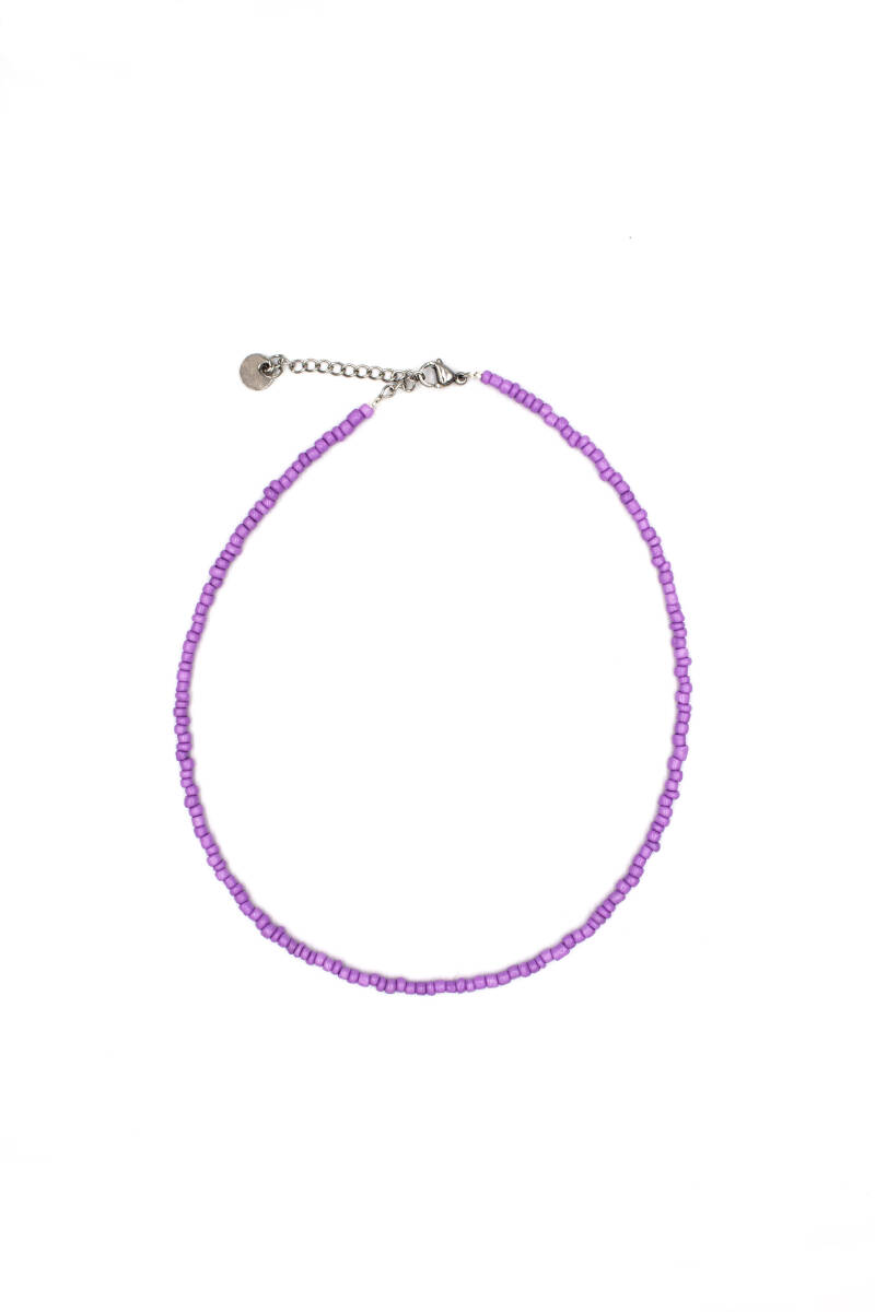 Basic choker purple