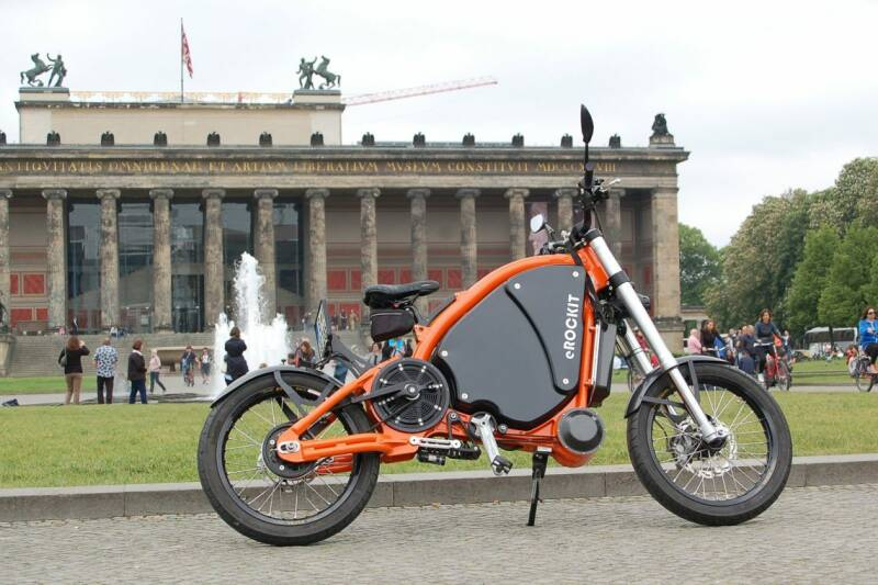 EROCKIT ( The FASTEST Bicycle in the WORLD )