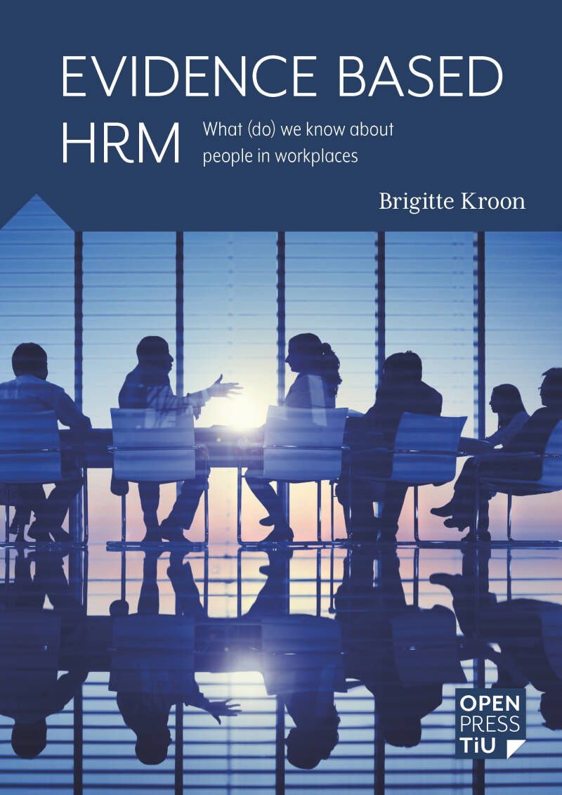 Evidence Based HRM; Brigitte Kroon