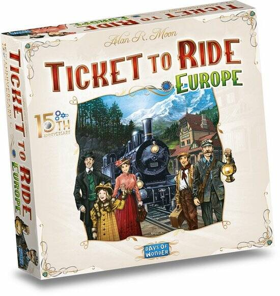 Ticket to Ride Europe (15th anniversary)