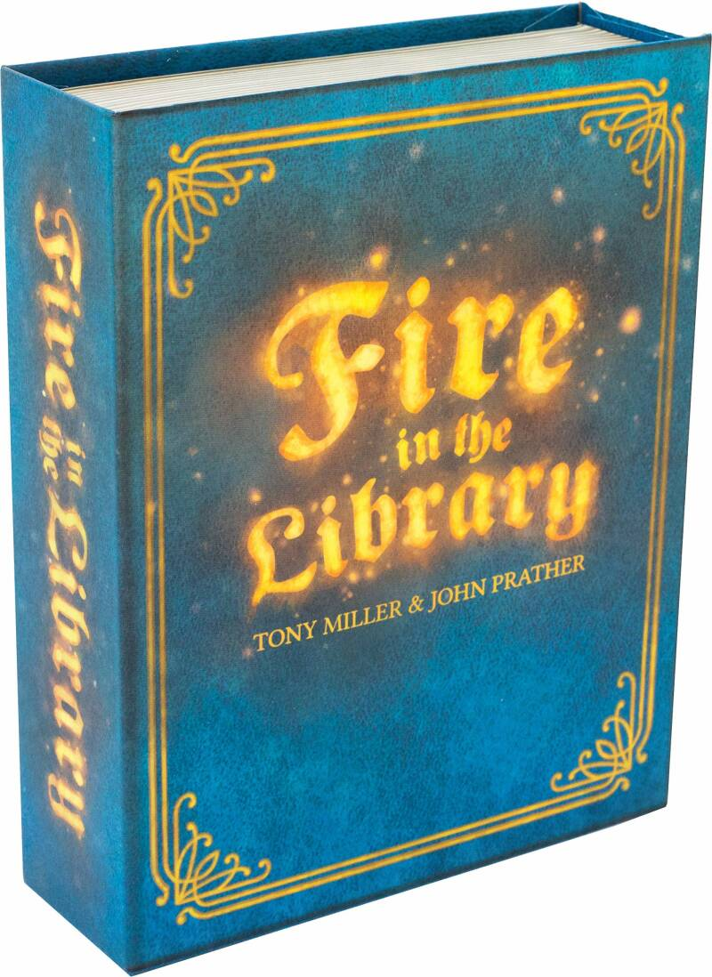 Fire in the Library (Engels)